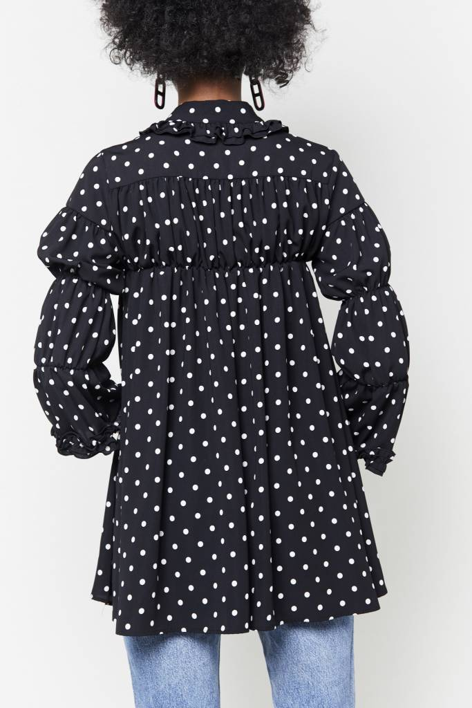 Tarrot Polka-Dot mini Dress