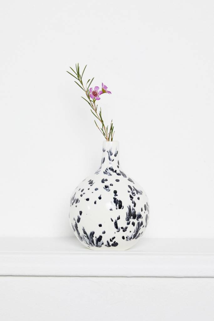 Franca Franca Costa Bottle-Pumice Black and White