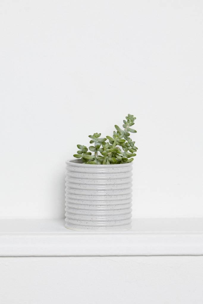 Franca Franca Edge Planter-Jasper Grey