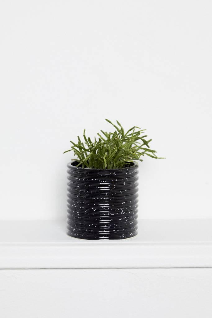 Franca Franca Edge Planter-Slate Black