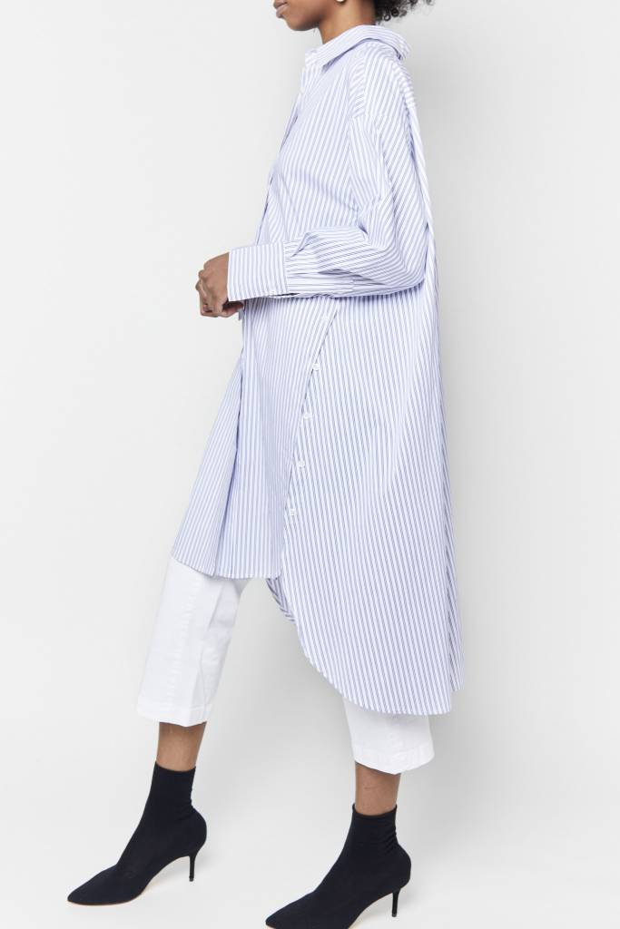 FAV Kenza Striped Shirt Dress