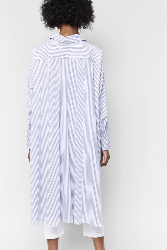 FAV Kenza Striped Shirt Dress