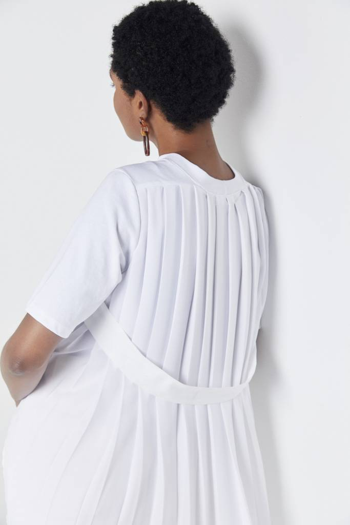 Vegas Leah Pleated Back Top