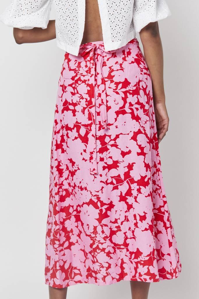 Erica Leandra Pink Wrap Skirt