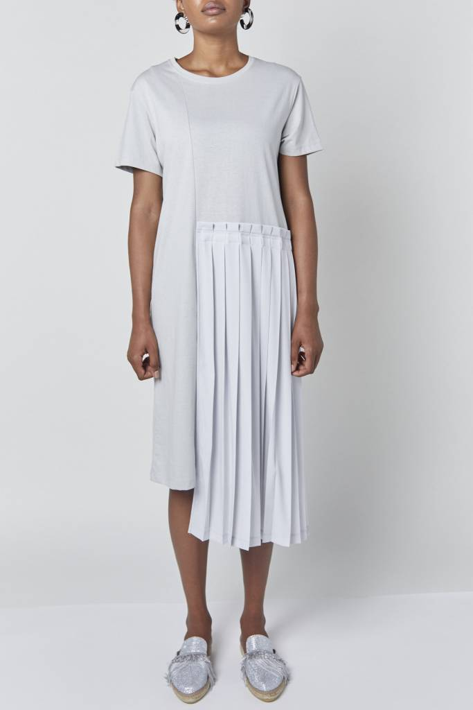 Vegas Mary kate Pleated Midi Dress