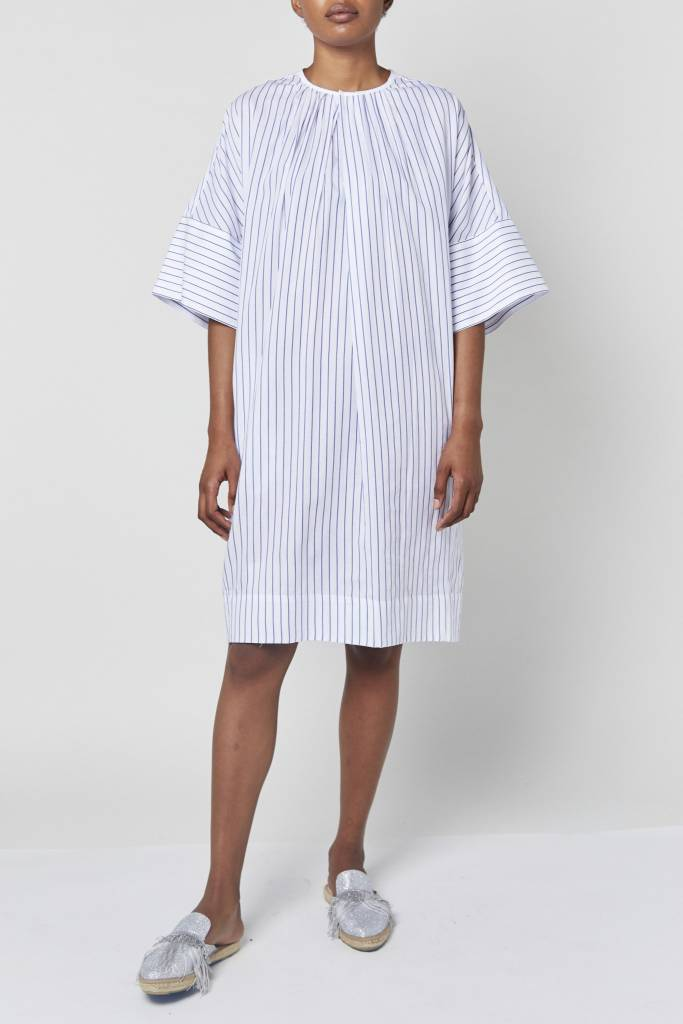 Vegas Sunny Striped Effortless Dress