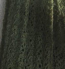 Handknit Lace 100% Alpaca Scarf