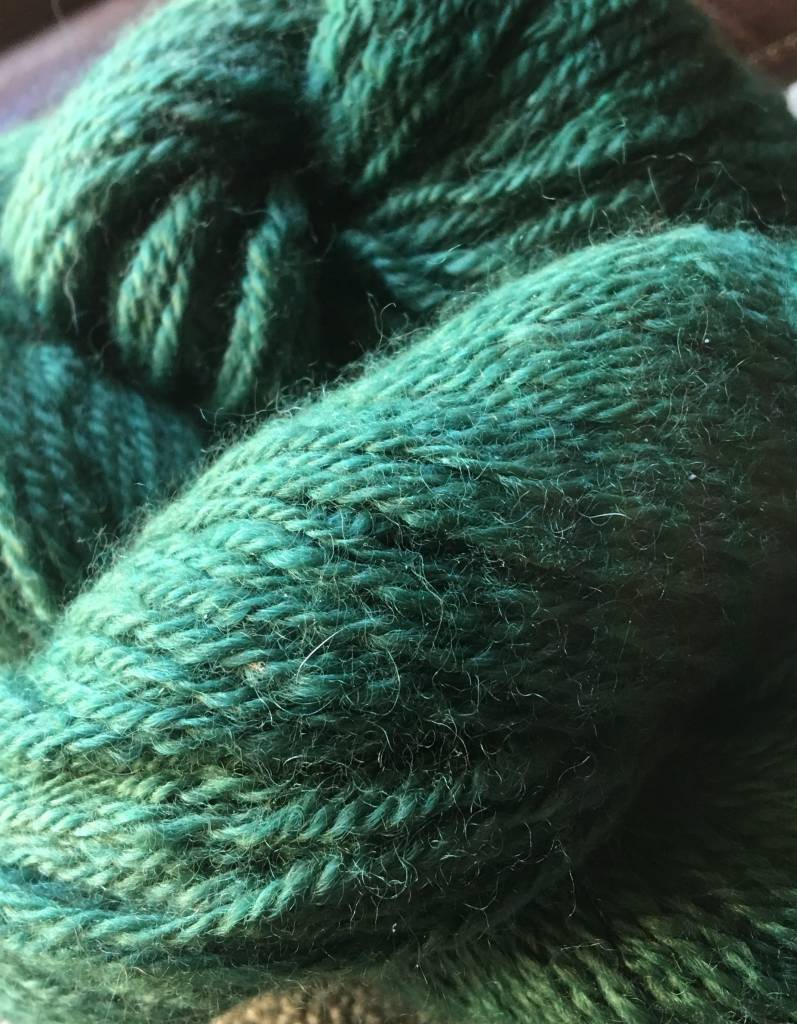 Saged Teal Finger 3 Ply 250 Yds 2 Oz