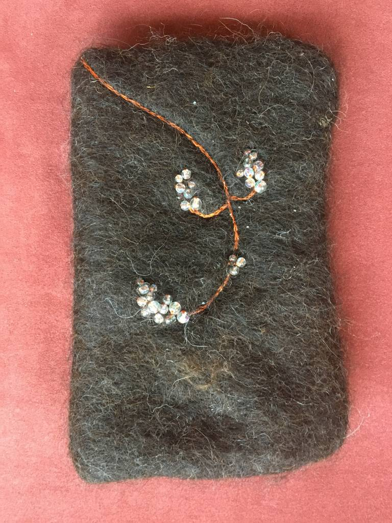 Beaded Lined I-Phone Case RLM0436