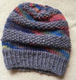 Hand Knit 100%  Alpaca hat