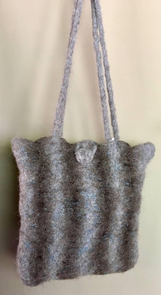 Felted AlpacaLlamaCotton Bag RLSB109