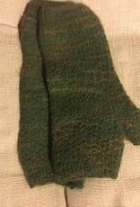 Fingerless mitts handknit