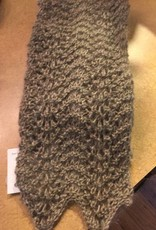 Feather & Fan Handknit scarf