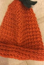 Orange Baby Alpaca & Wool Hat RLH 31