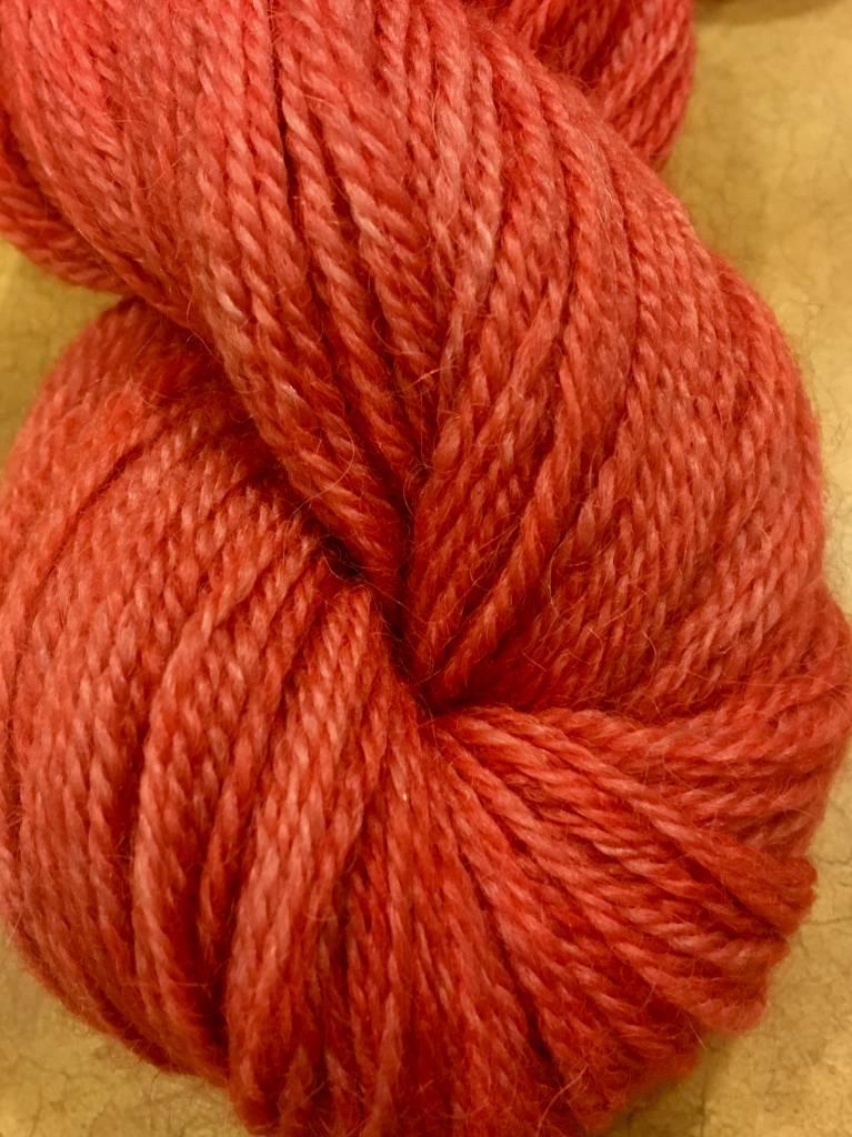 Poppy 3 Ply Sport 250 Yds 2.3 Oz 100% Alpaca Hand Dyed