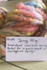 Artisan Hand Spun Yarn- Spring Fling