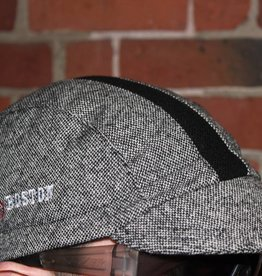 Walz Cap - Walz Wool 3 Panel I Bike Boston Grey Tweed / Black Stripe L/XL UA Urban