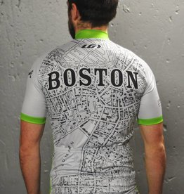 Louis Garneau Jersey - 1880 Boston Map - UA x Louis Garneau