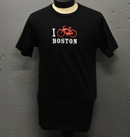 NE Design T-shirt - I Bike Boston - Mens