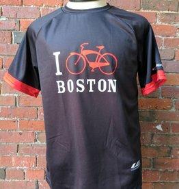 Louis Garneau T-Shirt - UA x Louis Garneau I Bike Boston Team Tee