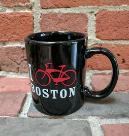 Mugs -  UA I Bike Boston 11oz