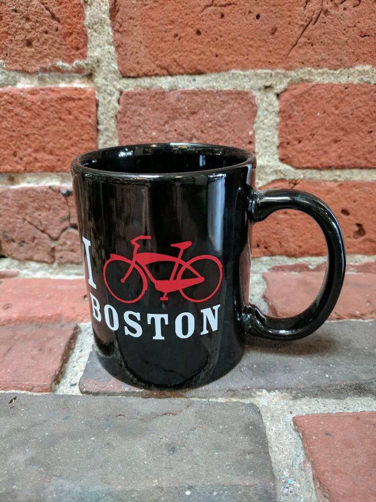 Mugs -  UA I Bike Boston 11oz