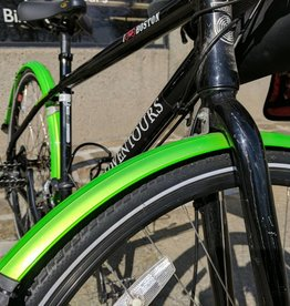 "Biria UA ""Signature"" Green Fenders"