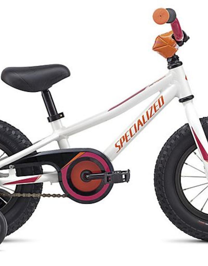 "Specialized Specialized Riprock Coaster 12"" White/Orange Bicycle"