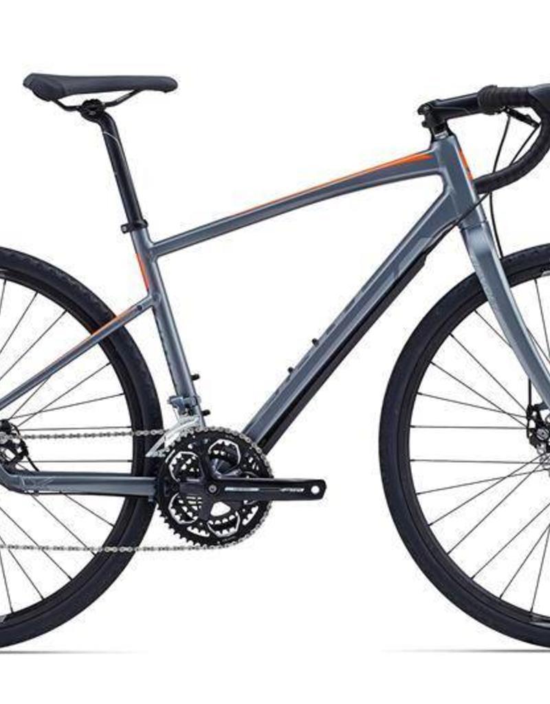 Giant Giant Revolt 3 2015 Charcoal/Orange M/L Bicycle