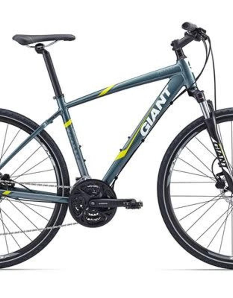 Giant Giant Roam 2 Disc 2016 Slate Gray/Yellow S Bicycle