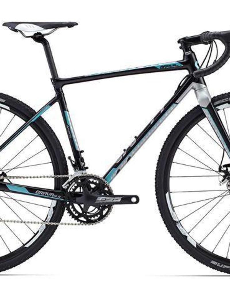 Giant Giant Brava SLR 2 2015 Black/Teal/Silver S Bicycle