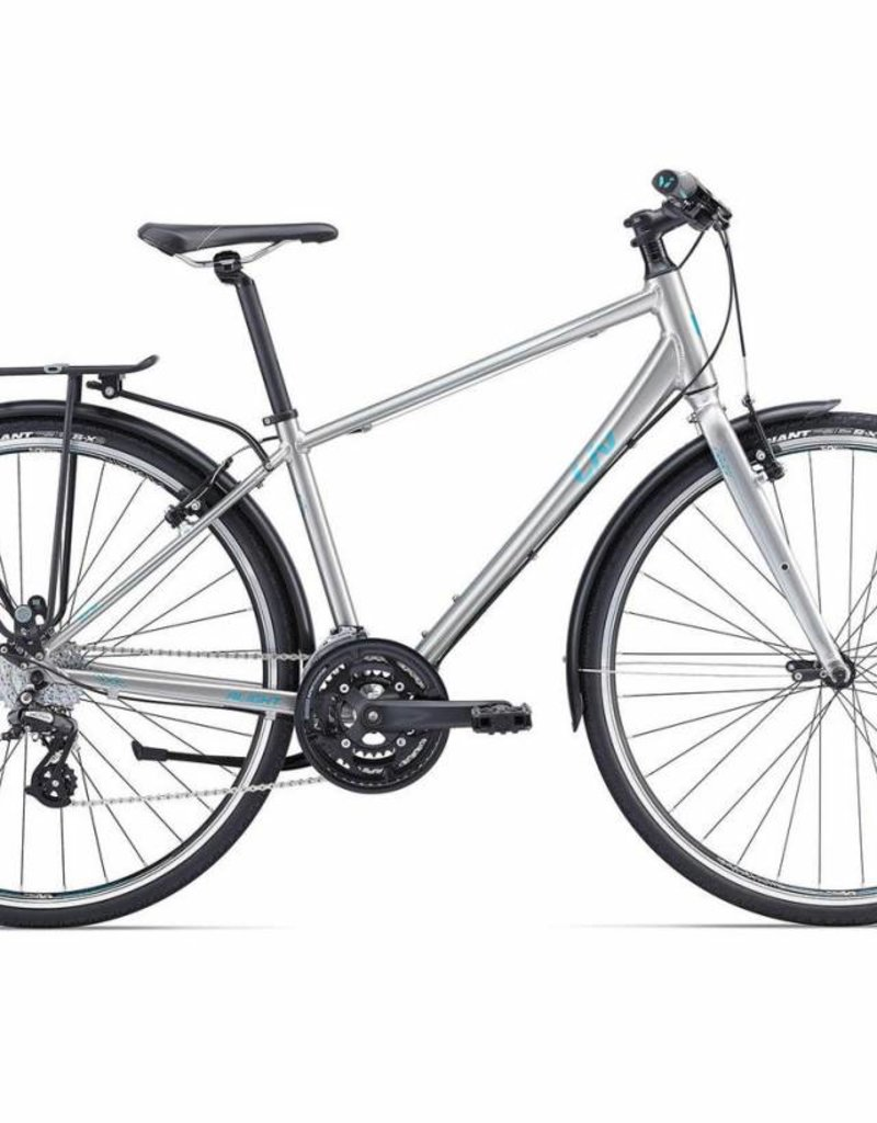Liv Giant - Alight City (DD) Silver/Green M Bicycle