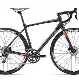 Giant Giant Contend SL 1 Disc S Black/Orange 2017 Bicycle