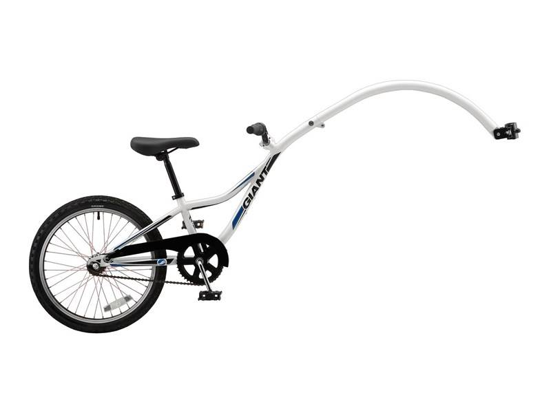 Giant Giant Halfwheeler 1-Speed White Tagalong Attachment