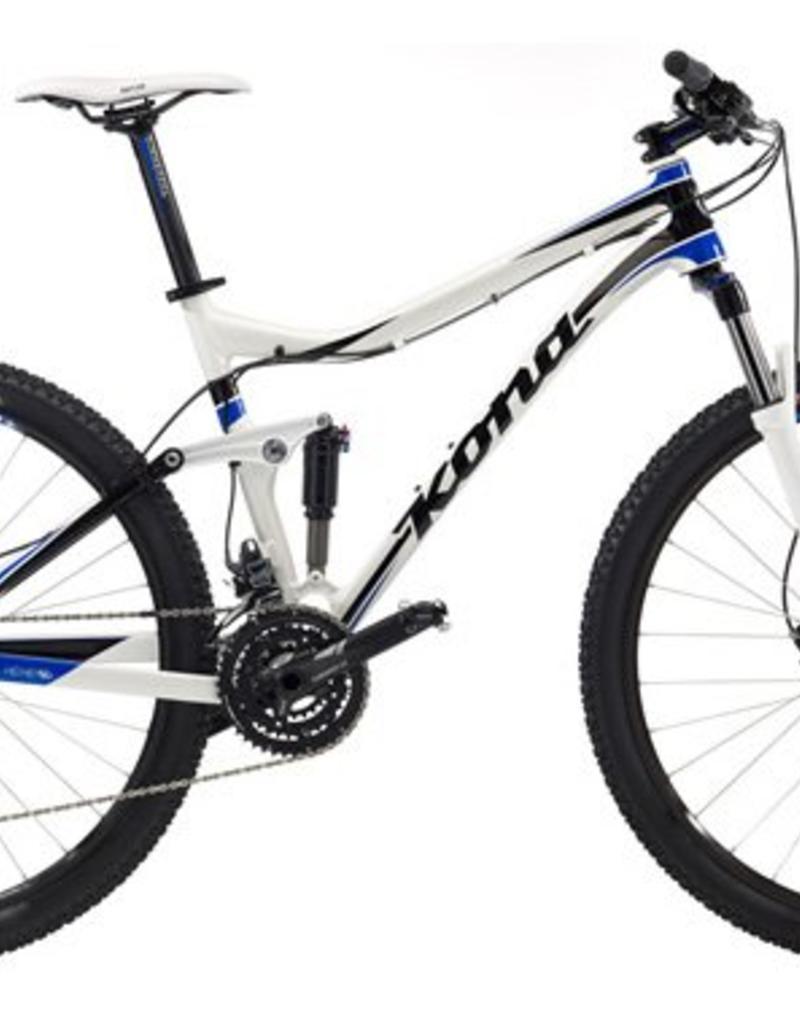 KONA Kona Hei Hei 29er 2013 White/Blue/Black XL 22'' Bicycle