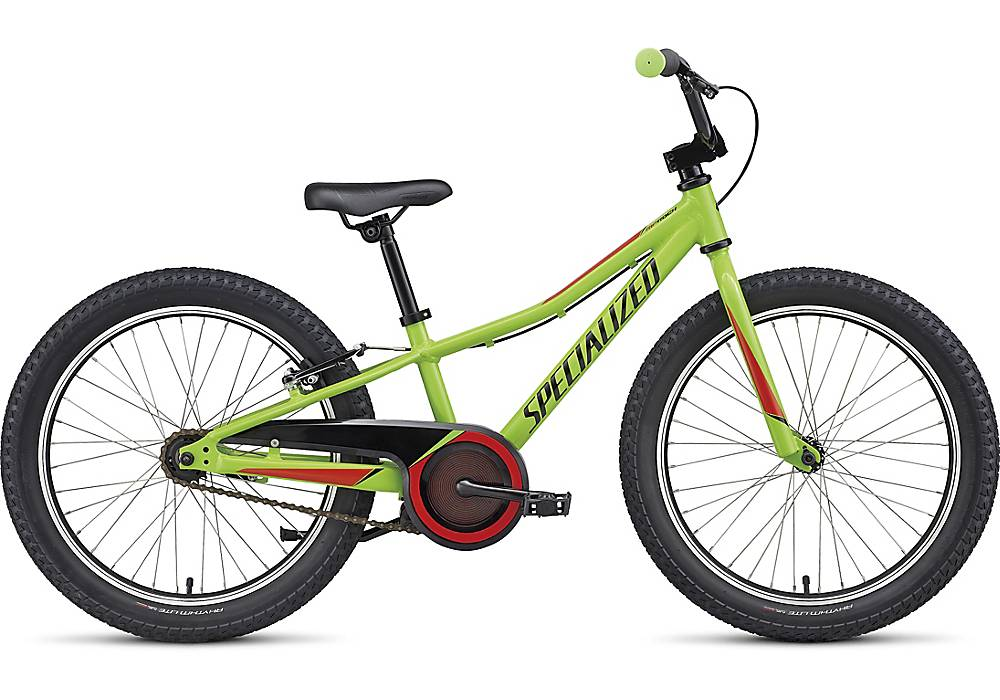 """Specialized Specialized Riprock 20"""" Green/Red Bicycle"""