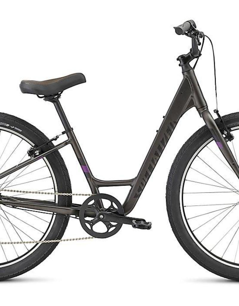 Specialized Specialized Roll Elite Step-Through Disc 2017 Grey/Indigo/Green Bicycle