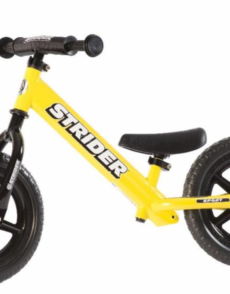 "Strider Sports Strider Sport 12"" Yellow Balance Bicycle"