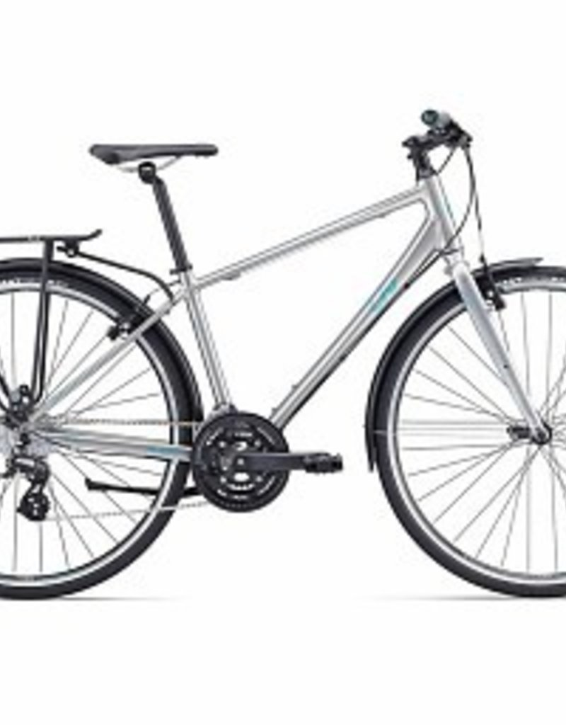 Liv Giant - Alight City (DD) Silver/Green L Bicycle