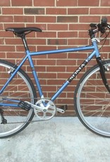 Soma Soma Double Cross GunMetal Blue 50cm Custom Bicycle