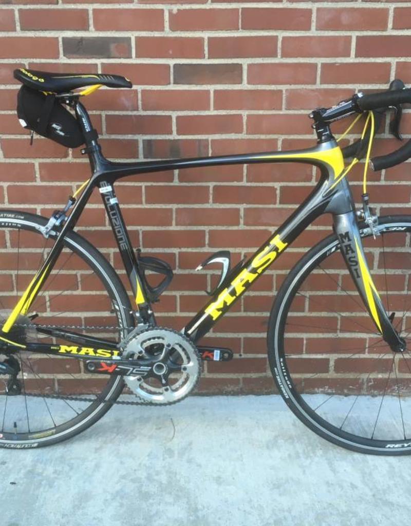 Masi Masi Evo 2013 Ultegra Black/Yellow 59cm Bicycle