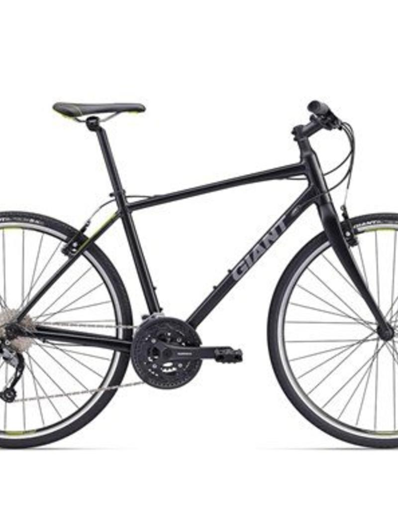 Giant Giant Escape 1 2017 Black/Lime Bicycle