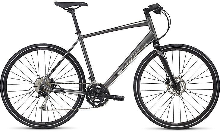 Specialized Specialized Sirrus Sport 2017 Charcoal/Chrome/Black Bicycle