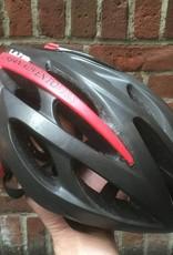 Lazer Helmet - Lazer O2 Boston UA 3.0 Black/Red Unisize