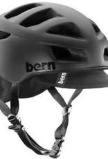 Bern Helmet - Bern Allston Matte Black w/ Black Flip Visor Dial Adjust - S/M