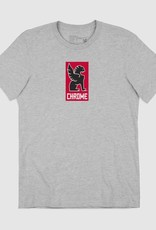 Chrome T-Shirt - Chrome New Lock Up Grey-S