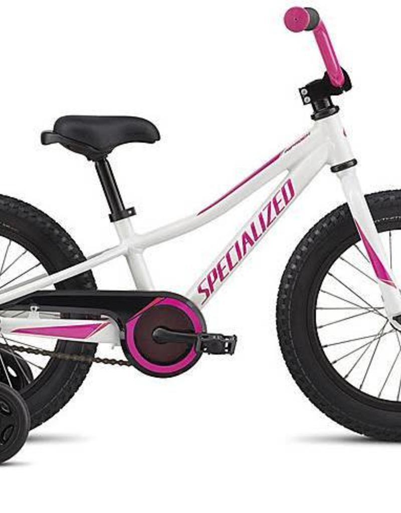 """Specialized Specialized Riprock Coaster 16"""" White/Pink Bicycle"""