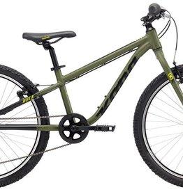 "Kona Hula 2018 24"" Army Green Bicycle"