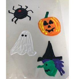 Halloween Window Decorations - Fri. Oct. 5th at 12 pm