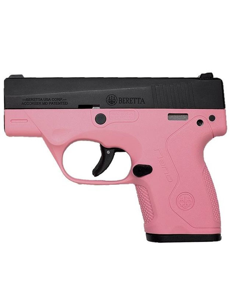 Beretta Bu-9 Nano 9mm Pink